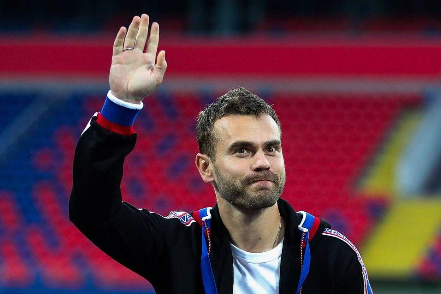 Акинфеев отреагировал на увольнение Черчесова из сборной России