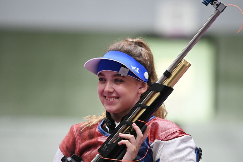 Галашина завоевала для России первую медаль на Олимпийских играх в Токио