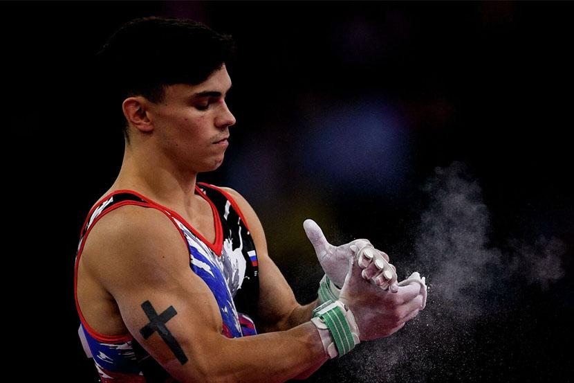 Гимнаст из России не сдержал слёз на Олимпиаде в Токио. Спортсмен вернулся после травмы