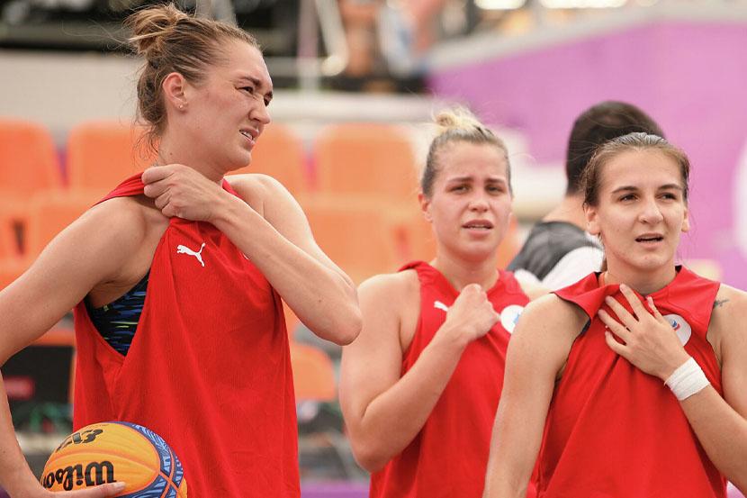 Сборная России по баскетболу 3х3 переиграла китаянок
