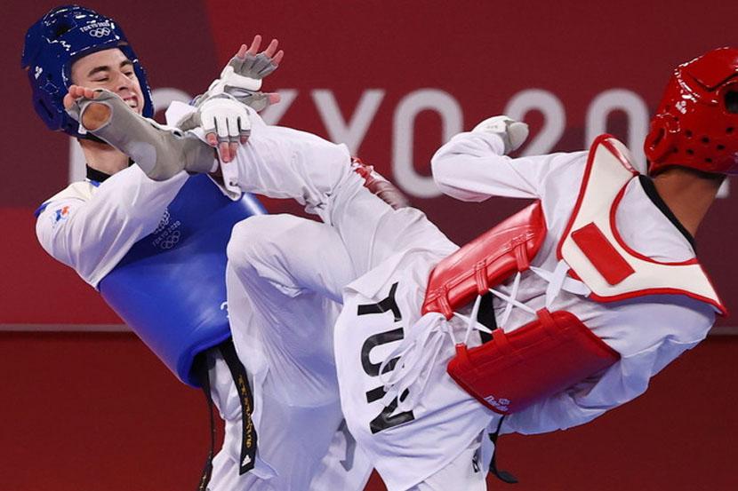 Вторая медаль сборной России на Олимпиаде в Токио: тхэквондист Артамонов завоевал бронзу