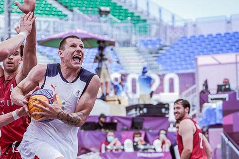 Сборная России по баскетболу 3х3 переиграла японцев на ОИ-2020