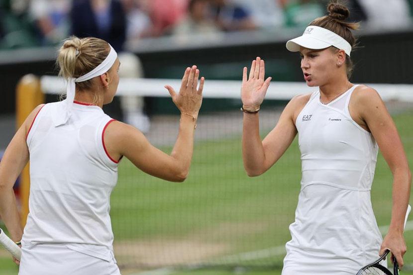 Кудерметова и Веснина прошли в четвертьфинал парного олимпийского турнира