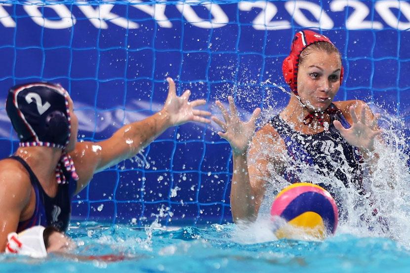 Сборная России по водному поло сыграла вничью с командой Венгрии на Олимпиаде в Токио
