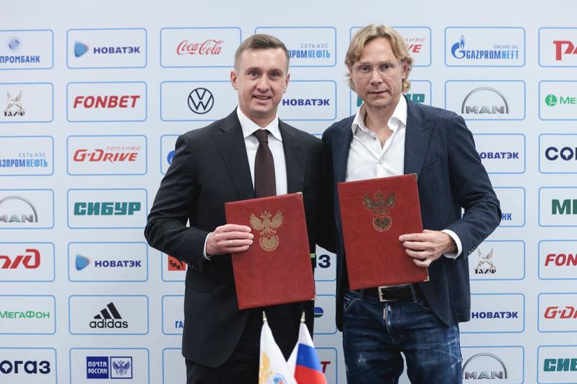 Валерий Карпин официально возглавил сборную России
