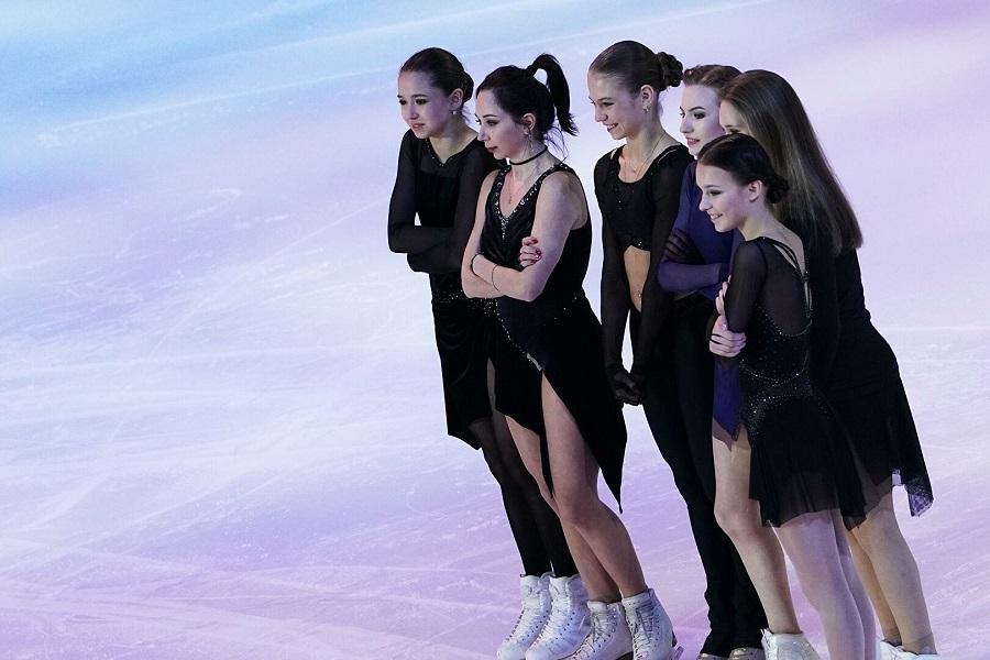 Трусова, Валиева и Щербакова - за 45 дней до старта сезона: как изменились фигуристки за лето. ВИДЕО