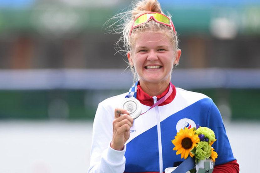 Пракатень завоевала серебряную медаль на Олимпийских играх в Токио