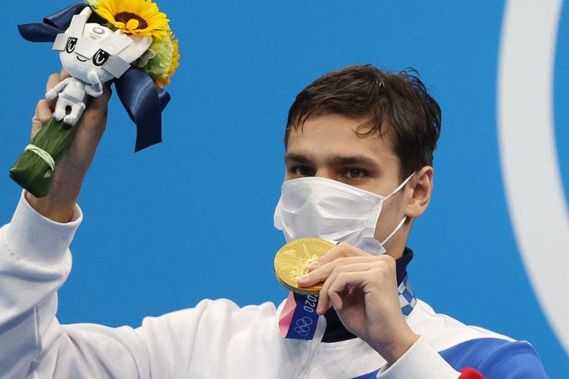 Рылов завоевал золотую медаль и установил олимпийский рекорд на Олимпиаде в Токио!
