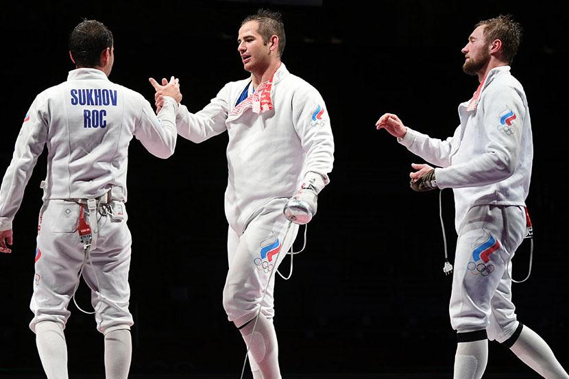 Российские шпажисты уступили в финале японцам и завоевали серебро Олимпийских игр!