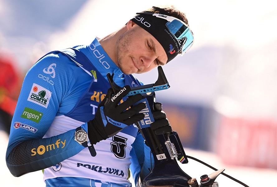 Биатлонист сборной Франции показал последствия тяжёлой травмы. ФОТО