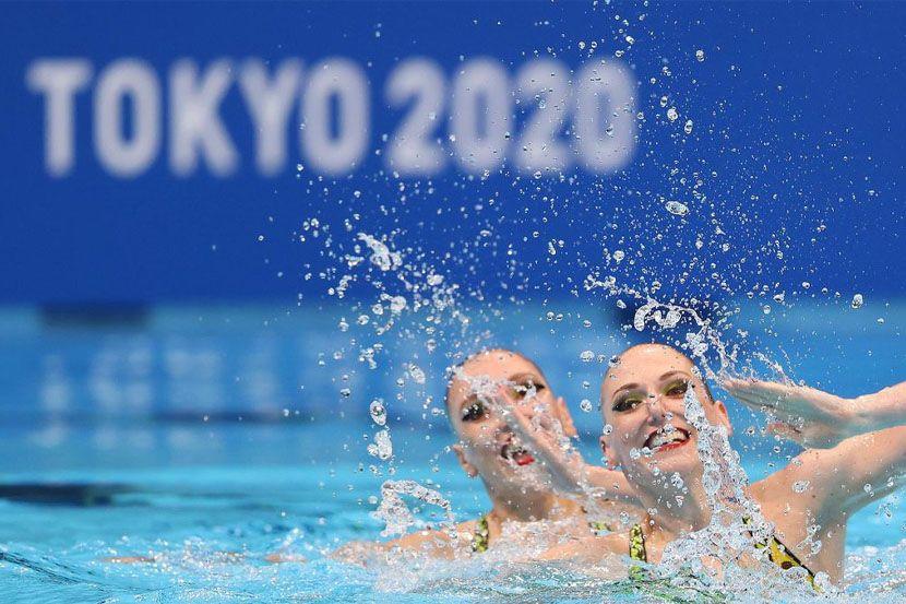 Российские синхронистки выиграли техническую программу в командных соревнованиях на Олимпиаде