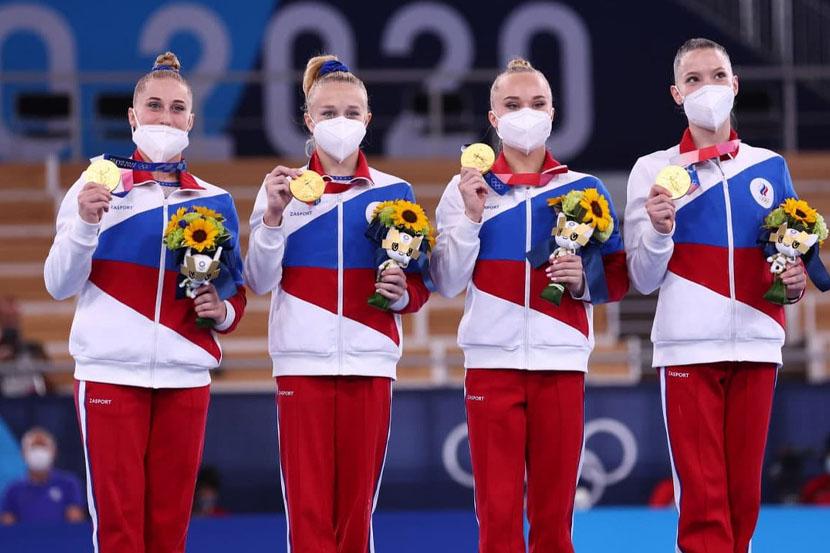 Сборная России заняла пятое место в медальном зачёте на Олимпийских играх в Токио