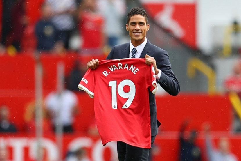 'Манчестер Юнайтед' объявил о трансфере Варана