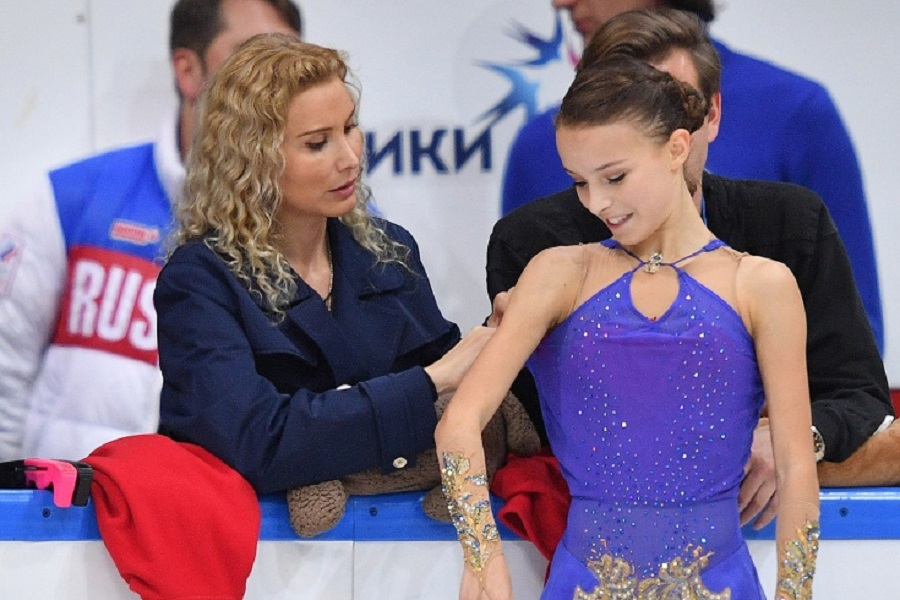 Загитова и Щербакова поздравили Загорски с днём рождения. ФОТО