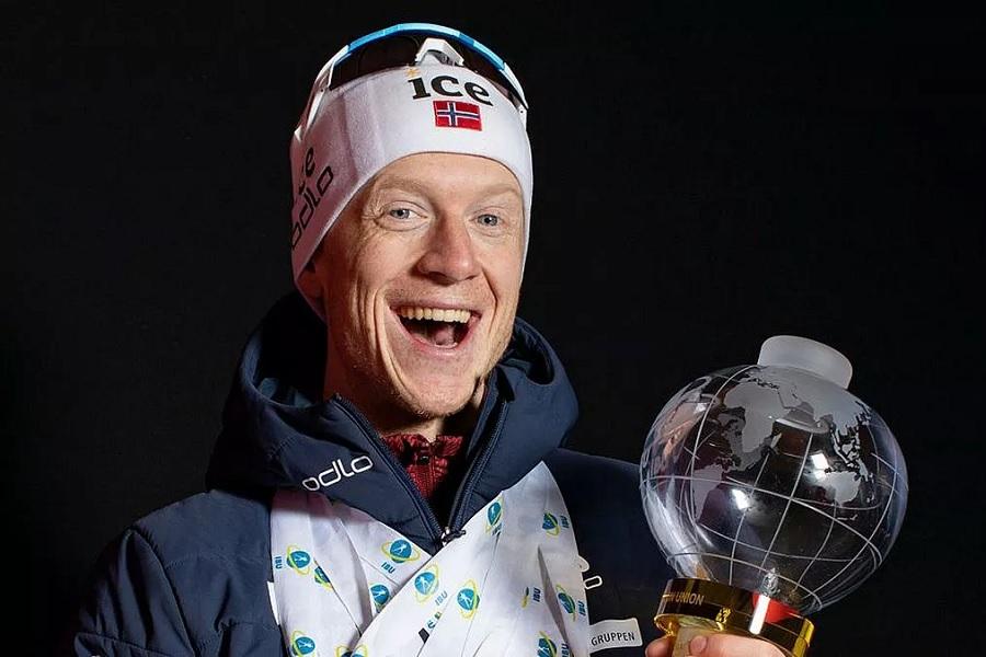 Стали известны призовые Йоханнеса Бё и других биатлонистов за минувший сезон