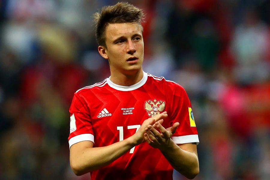 Головин стал автором победного мяча 'Монако' в полуфинальном матче Кубка Франции. ВИДЕО