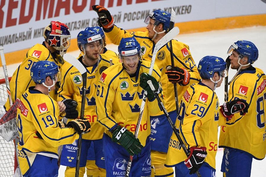 Нападающий 'Баффало' Олофссон поможет сборной Швеции на ЧМ-2021