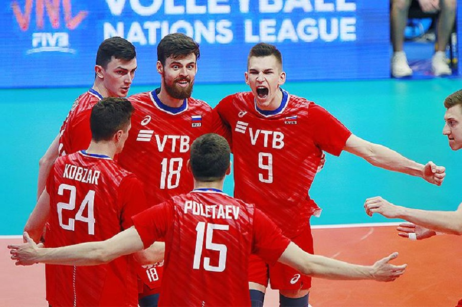 Состав мужской сборной России по волейболу на Лигу наций