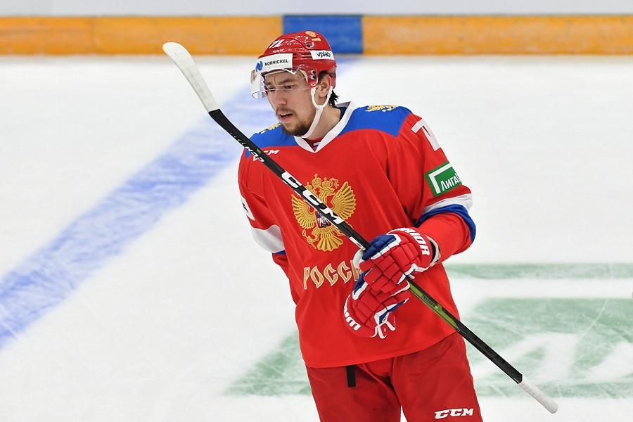 Бурдасов стал автором первого гола чемпионата мира по хоккею (ВИДЕО)