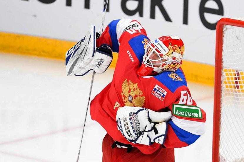 Стало известно, кто будет вратарём сборной России в матче ЧМ-2021 с Великобританией