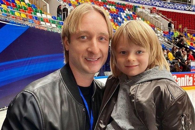 Сын Плющенко: 'Я готовлюсь и хочу участвовать в Олимпийских играх'