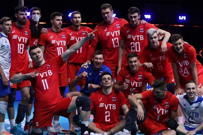Сборная России по волейболу переиграла Канаду в мужской Лиге наций