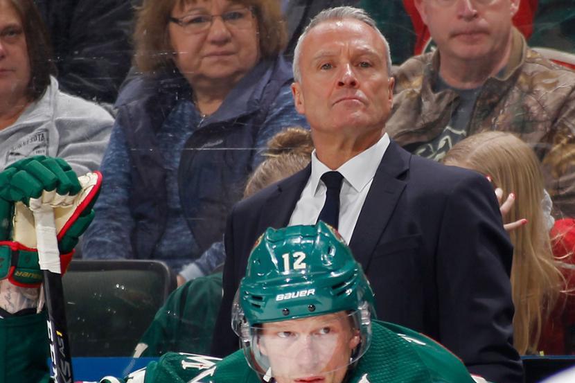НХЛ назвала фамилии тренеров, которые претендуют на звание лучшего в сезоне