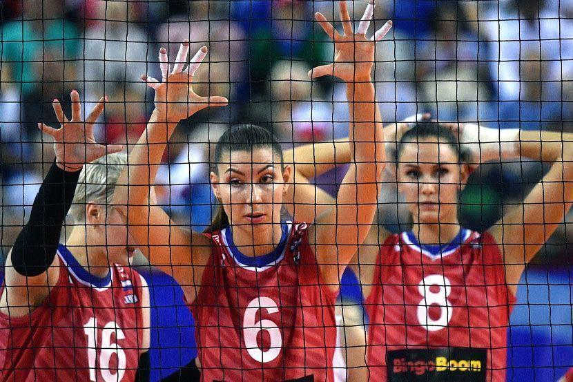 Волейбол, Лига наций, женщины, Россия - Южная Корея, прямая текстовая онлайн трансляция