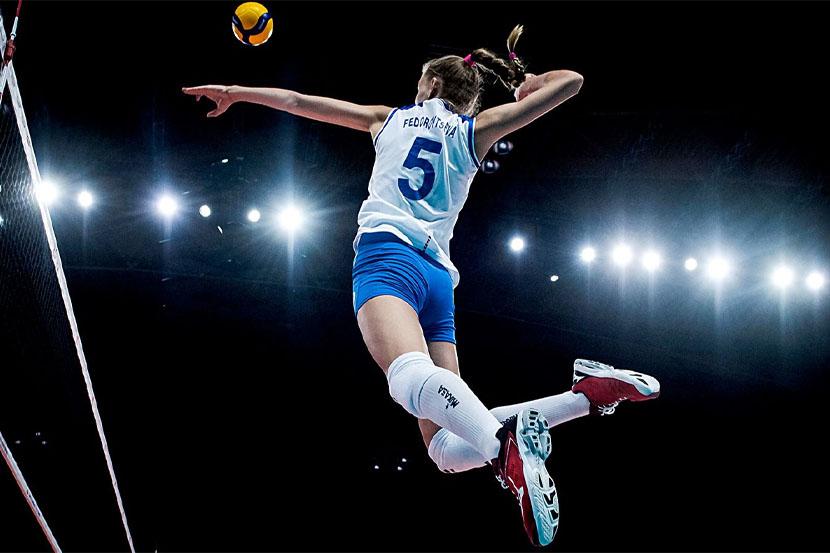 Женская сборная России по волейболу нанесла поражение команде Южной Кореи в Лиге наций