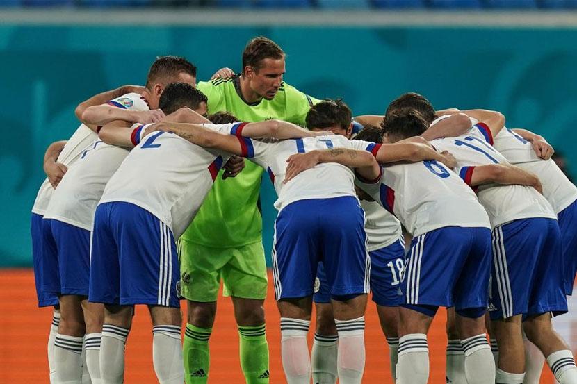 Стартовый состав сборной России на матч Евро-2020 против Финляндии