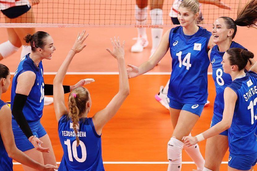 Волейбол, Чемпионат Европы, женщины, Россия - Бельгия, прямая текстовая онлайн трансляция