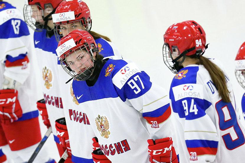 Женская сборная России по хоккею разгромно проиграла Канаде на ЖЧМ-2021