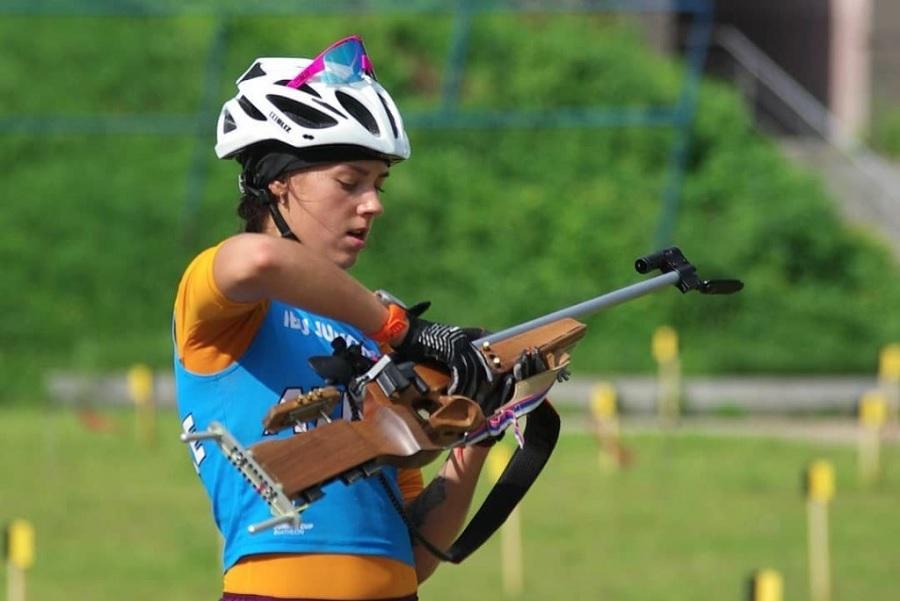 Гореева завоевала золотую медаль в суперспринте на чемпионате мира по биатлону среди юниорок