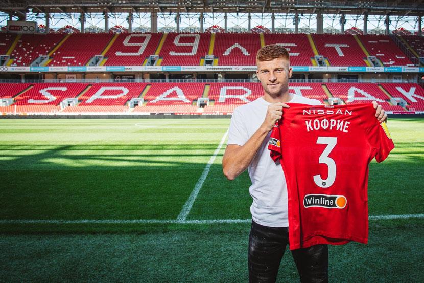 Кофрие поделился эмоциями от перехода в 'Спартак': 'Хочу помочь клубу стать чемпионом'