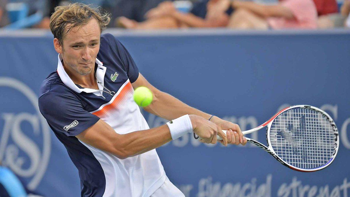 Теннис, US Open, Второй круг, Кёпфер - Медведев, Прямая текстовая онлайн трансляция