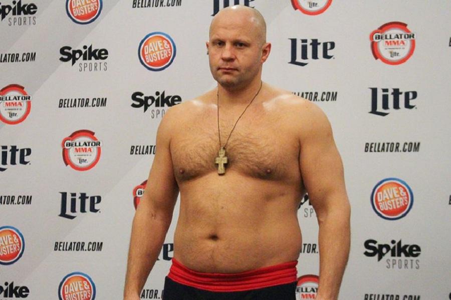 Обнародованы цены на турнир Bellator в Москве, на котором бой проведёт Фёдор Емельяненко