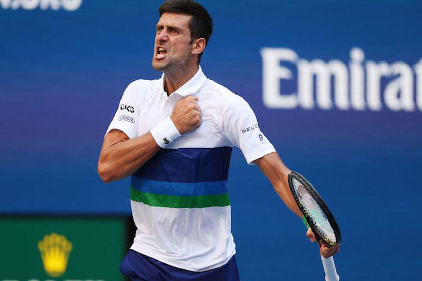 Джокович поделился эмоциями после выхода в 1/4 финала US Open