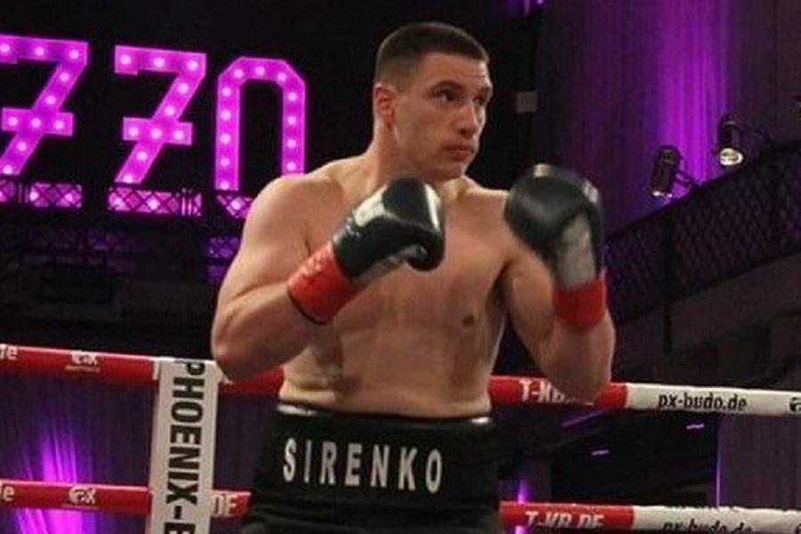 Украинец Сиренко нокаутировал россиянина Устинова в первом раунде