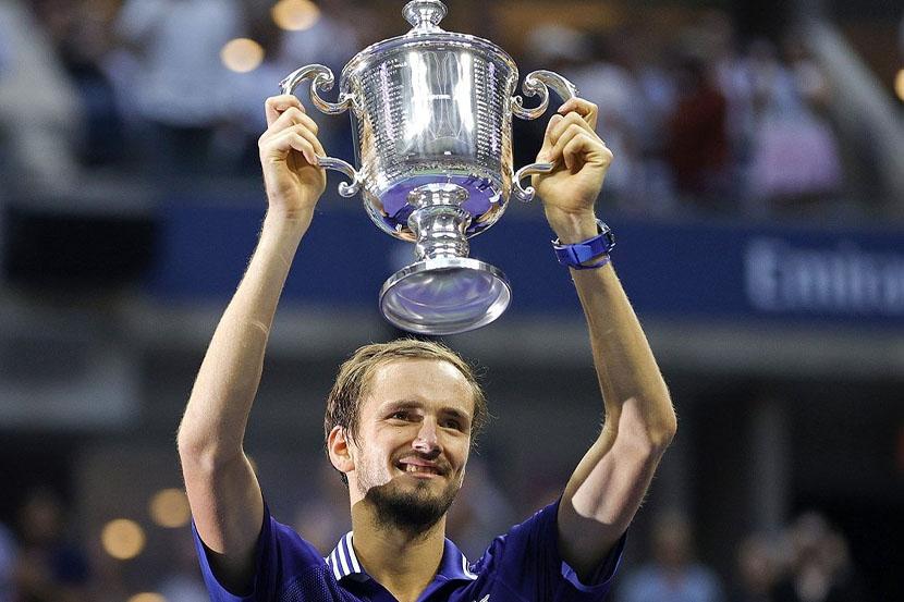 Медведев — пятый игрок, которому удалось победить Джоковича в рамках финала турнира 'Большого шлема'