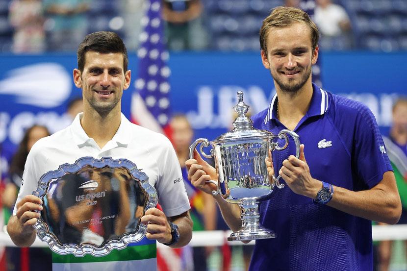 Даниил Медведев после победы на US Open заработал 2,5 миллиона долларов