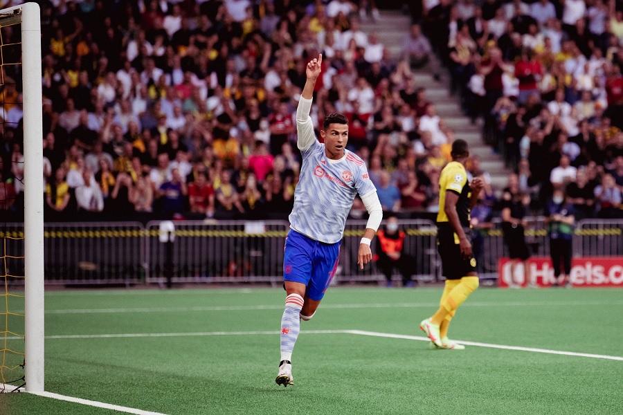 Криштиану Роналду обновил рекорд Лиги чемпионов по голам (ВИДЕО)