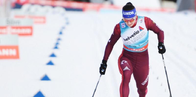 Грухвина и Непряева выиграли командный спринт на ЧМ по лыжероллерам