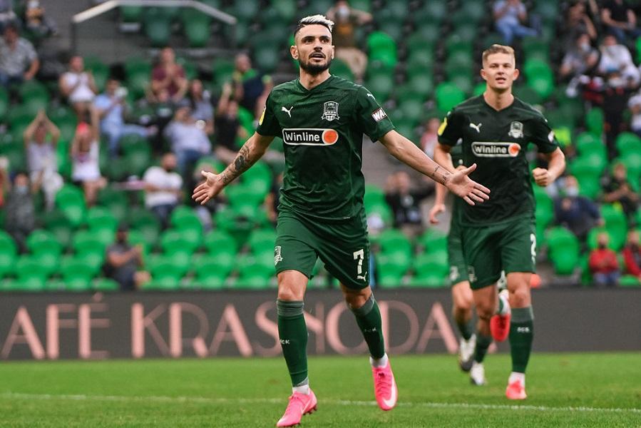 Как 'Краснодар' переиграл 'Ахмат' - 2:0: все голы матча. ВИДЕО