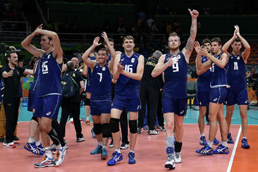 Сборная Италии вышла в финал чемпионата Европы по волейболу