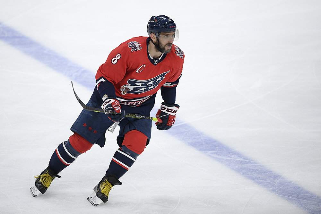 Овечкин вошел в сотню лучших ассистентов НХЛ