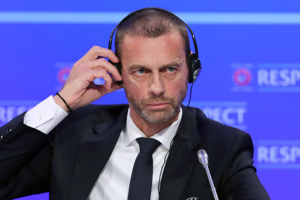 Глава УЕФА назвал создание Суперлиги 'плевком в лица болельщиков'