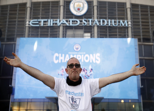 'Манчестер Сити' досрочно выиграл чемпионат Англии