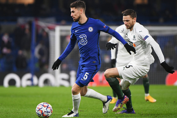 'Краснодар' сыграл вничью с 'Челси' в матче Лиги чемпионов