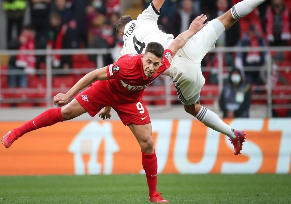 'Спартак' проиграл 'Легии' в стартовом матче Лиги Европы
