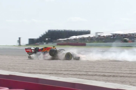 Британец Льюис Хэмилтон выиграл домашний Гран-при в 'Формуле-1'